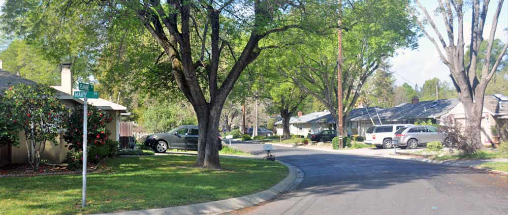 A typical home for sale in the Gregory Gardens neighborhood of Pleasant Hill, CA